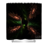 Fractal 009 Shower Curtain
