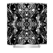 Fractal 62316.1 Shower Curtain
