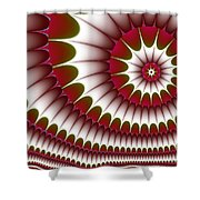 Fractal 634 Shower Curtain