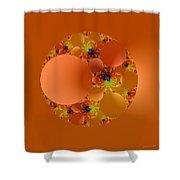 Fractal 99 Shower Curtain