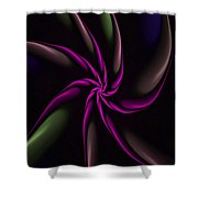Fractal Abstract 070110 Shower Curtain