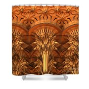 Fractal Architecture Shower Curtain