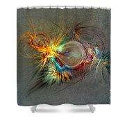 Fractal Art Beauty Shower Curtain