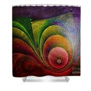 Fractal Design -a4- Shower Curtain