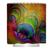 Fractal Design -a5- Shower Curtain