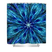 Fractal Flora 062610 Shower Curtain