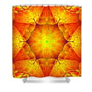 Fractal Garden 10 Shower Curtain