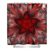 Fractal Garden 3 Shower Curtain