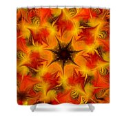 Fractal Garden 6 Shower Curtain