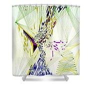 Fractal II Shower Curtain
