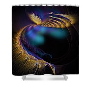 Fractal Of The Day Se02 Ep02 Wings Shower Curtain