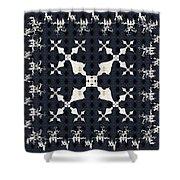 Fractal Patterns Shower Curtain