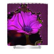 Fractual Flower  Shower Curtain