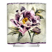 Fragerent Bloom IIi Shower Curtain