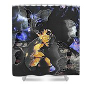 Fragility Shower Curtain