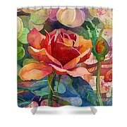 Fragrant Roses Shower Curtain
