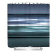 Framed Ocean Shower Curtain