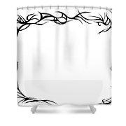 Framewave Shower Curtain