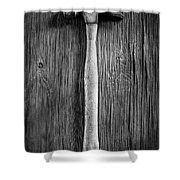 Framing Hammer L Shower Curtain