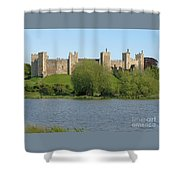 Framlingham Castle Shower Curtain