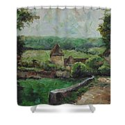 France, 1993 Shower Curtain