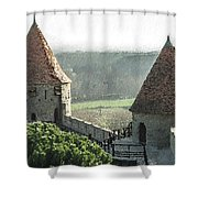 France - Id 16235-220244-1257 Shower Curtain
