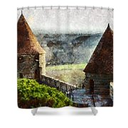 France - Id 16235-220257-3312 Shower Curtain