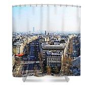 France Montmartre Paris Shower Curtain