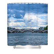France Nature Shower Curtain