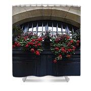 France, Paris, Flower Bouquet Hanging Shower Curtain