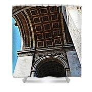France Triumph Monument Shower Curtain