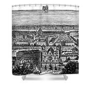 France, View Of Lyon, C1894 - To License For Professional Use Visit Granger.com Shower Curtain