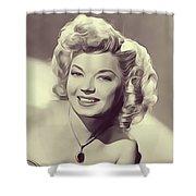 Frances Langford, Vintage Actress Shower Curtain