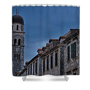 Franciscan Monastery Tower - Dubrovnik Shower Curtain