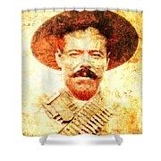 Francisco Villa Shower Curtain
