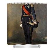 Francois-ferdinand-philippe Dorleans Prince De Joinville Franz Xavier Winterhalter Shower Curtain