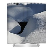 Franconia Brook - White Mountains New Hampshire  Shower Curtain