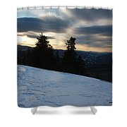 Franconia Notch State Park - Lincoln New Hampshire Usa Shower Curtain