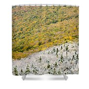 Franconia Notch State Park - White Mountains Nh Usa Autumn Shower Curtain