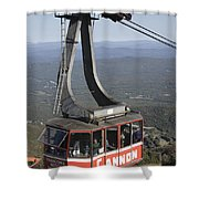 Franconia Notch State Park New Hampshire - Aerial Tramway Shower Curtain