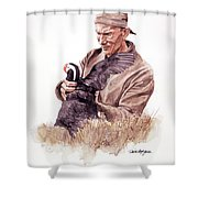 Frank Beebe Shower Curtain