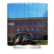 Frank Family Science Center At Guilford College Shower Curtain