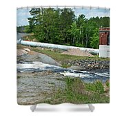 Frank J Russell Falls Shower Curtain