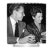 Frank Sinatra And Nancy Shower Curtain