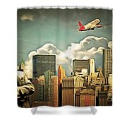 Frank Sinatra Fly Me To The Moon New York 20170506 V3 Shower Curtain