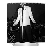 Frank Sinatra  Live On Stage 1939 Shower Curtain