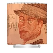 Frank Sinatra - The Voice Shower Curtain