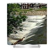 Frankenmuth Lager Mill II Shower Curtain