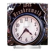 Frankenmuth Time Shower Curtain