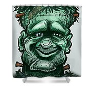 Frankenstein Shower Curtain
